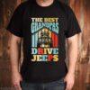The best grandpas drive Jeeps vintage shirt