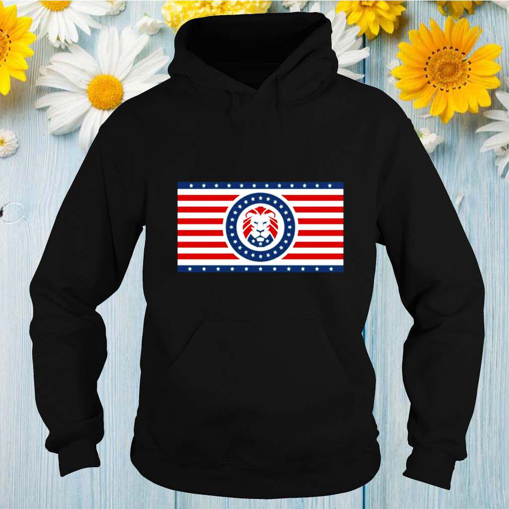 The maga patriotic flag is a lion shirt