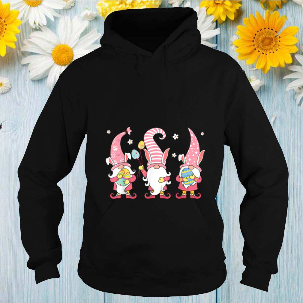 Three Gnomes Easter Day Bunny Eggs Hunting shirt