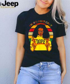Unapologetically dope vintage sunset shirt