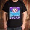 Vaporwave Aesthetic Bitcoin Crypto Wave 80s 90s BTC shirt