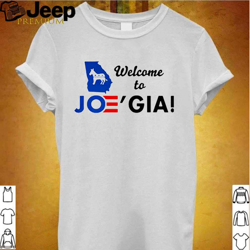 Welcome To Joegia 2021 shirt