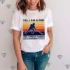 Yes Im A Girl Yes I Speak Fluent Hockey Vintage shirt
