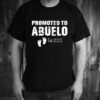promoted to abuelo est 2021 shirt