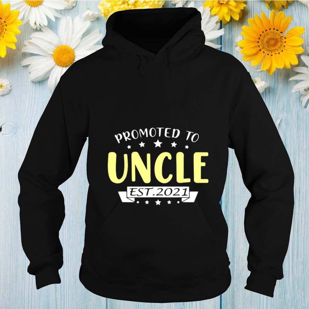 promoted to uncle est 2021 tshirt