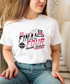2021 NCAA womens final four Arizona Wildcats basketball shirt 3