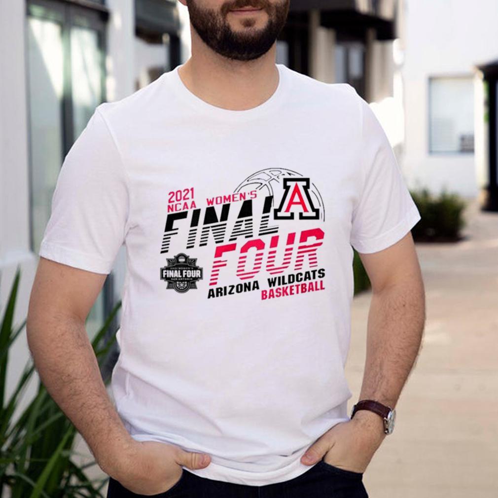 2021 NCAA womens final four Arizona Wildcats basketball shirt