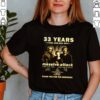33 Years 1988 2021 Massive Attack thank you for the memories signature shirt
