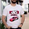 46 Superflo Motor Oil Car Pink Shirt