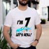 7th Birthday Boy Kid Race Car Driver 7 Years Old Shirt
