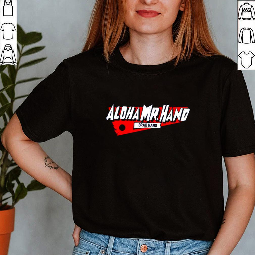 Aloha Mr. Hand D.C. brad hand shirt