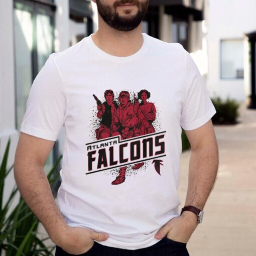 Atlanta Falcons NFL Star Wars Rebels Skywalker Leia and Han Solo shirt