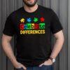 Celebrate Differences Autism Awareness shirt 3