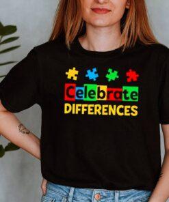 Celebrate Differences Autism Awareness shirt 8
