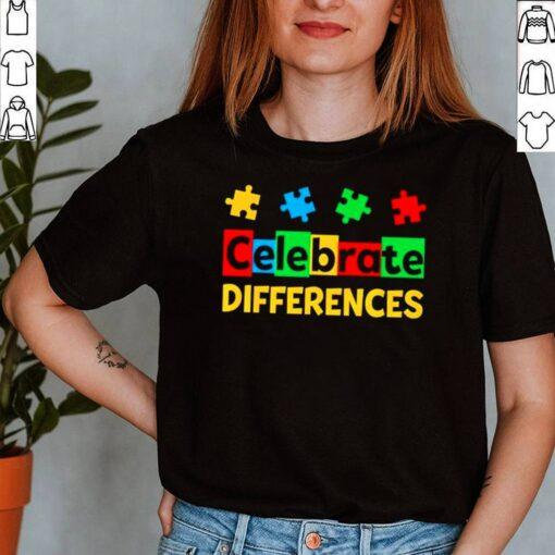 Celebrate Differences Autism Awareness shirt 6