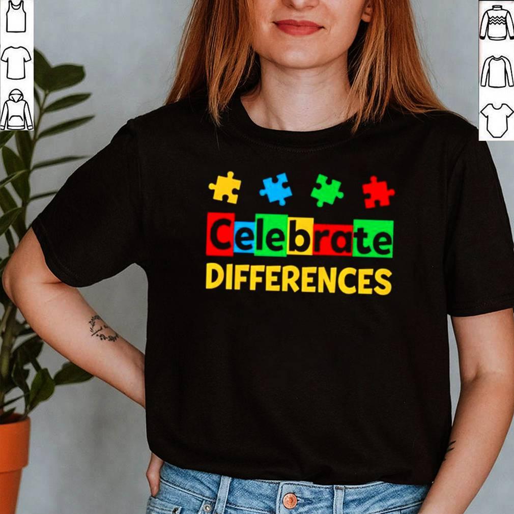 Celebrate Differences Autism Awareness shirt 12