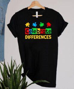 Celebrate Differences Autism Awareness shirt 10
