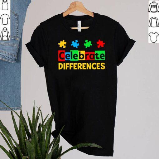 Celebrate Differences Autism Awareness shirt 7