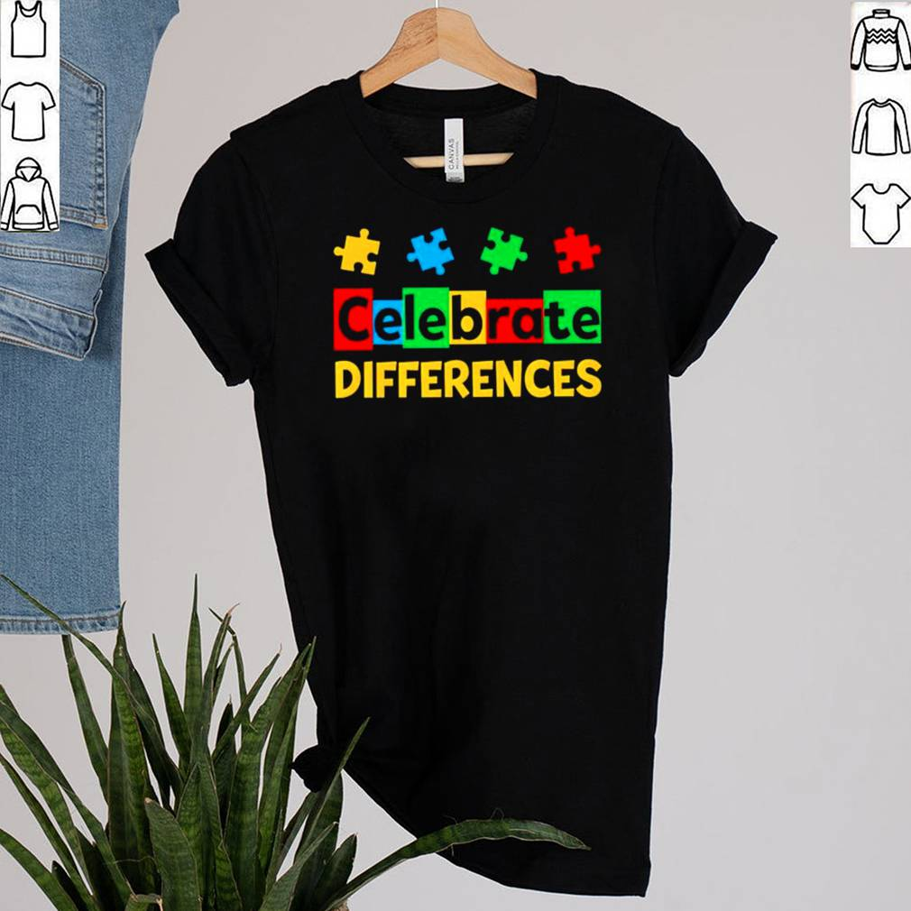 Celebrate Differences Autism Awareness shirt 16