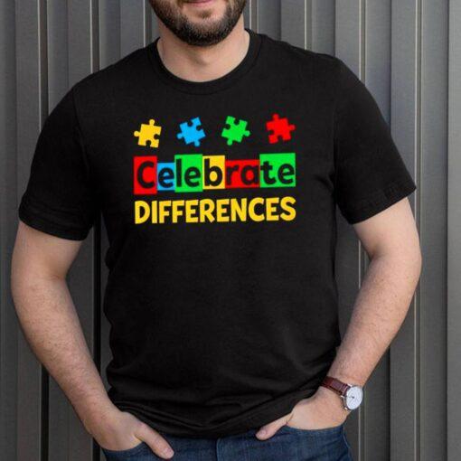 Celebrate Differences Autism Awareness shirt 5