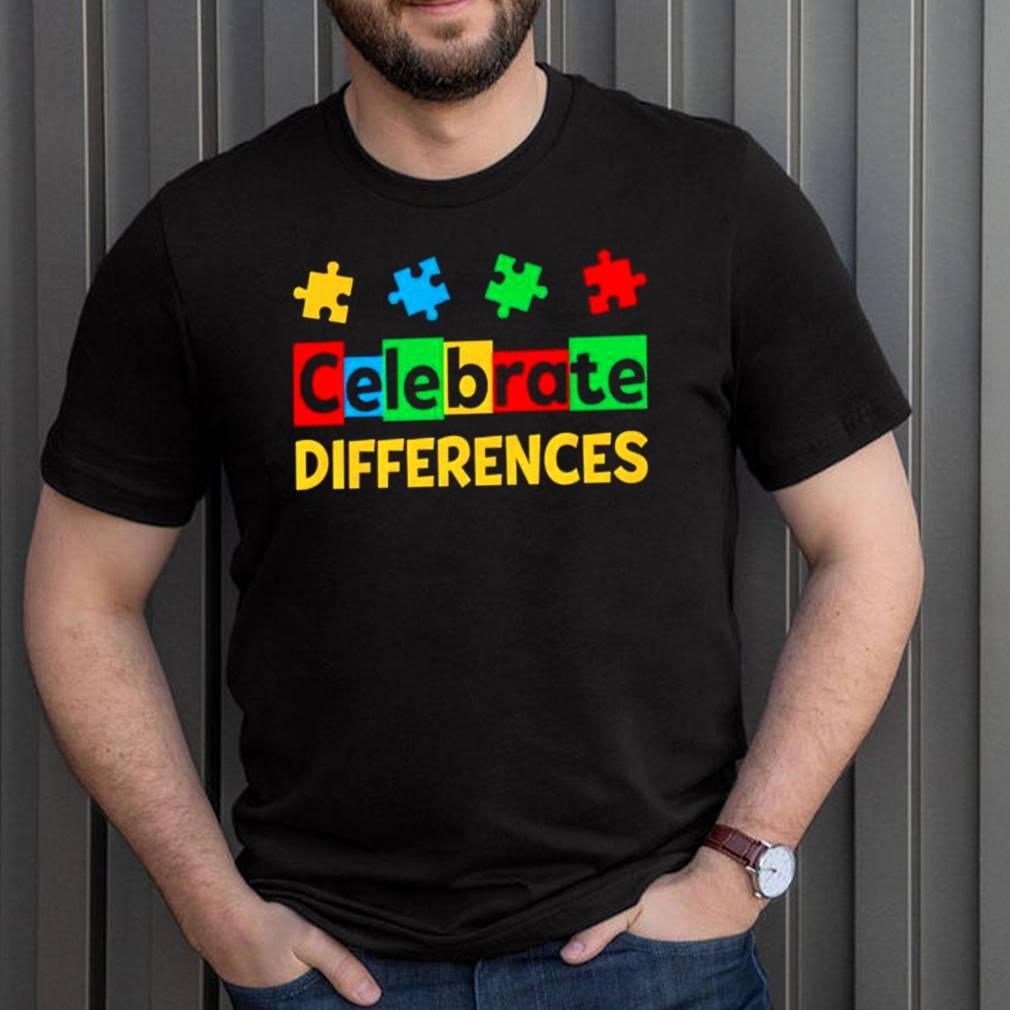 Celebrate Differences Autism Awareness shirt 14