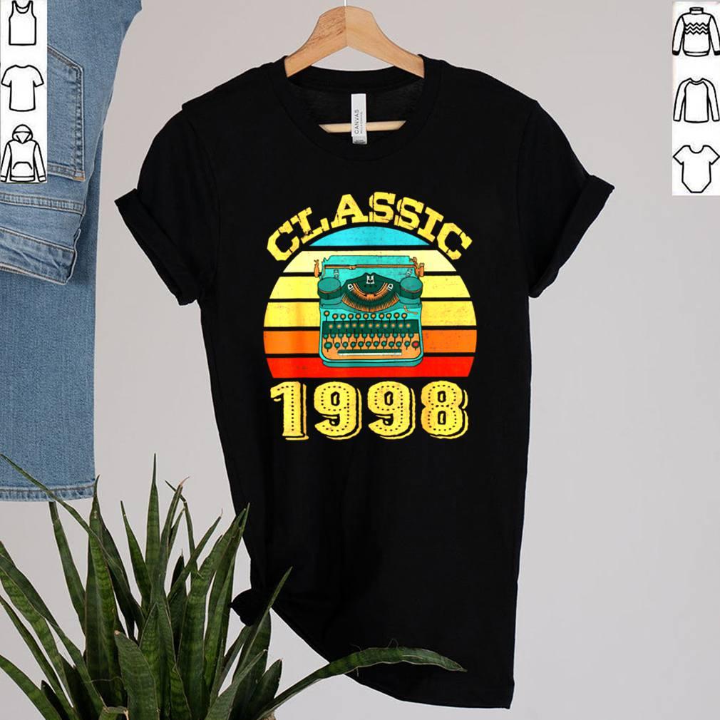 Classic 1998 Vintage 23rd Birthday shirt 2