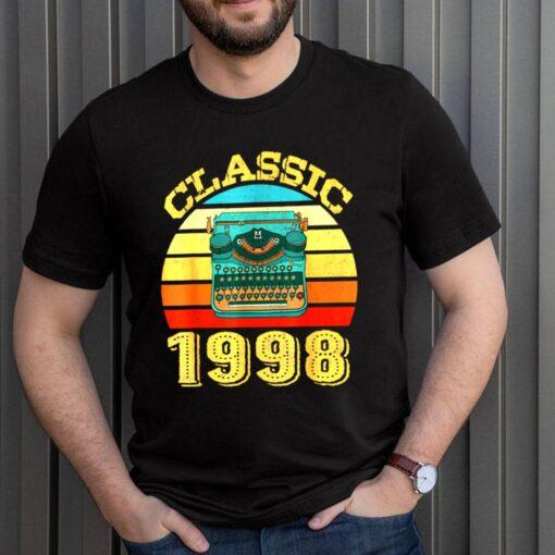 Classic 1998 Vintage 23rd Birthday shirt