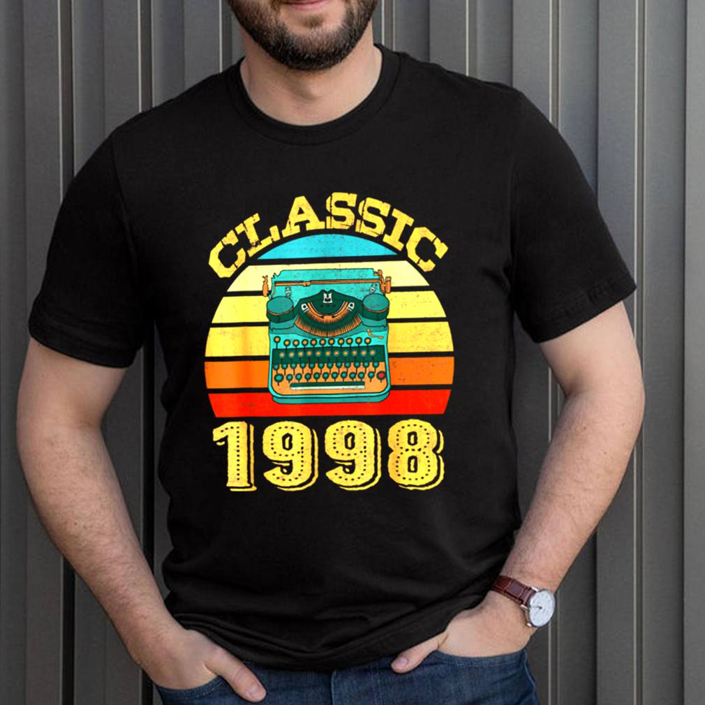 Classic 1998 Vintage 23rd Birthday shirt 3