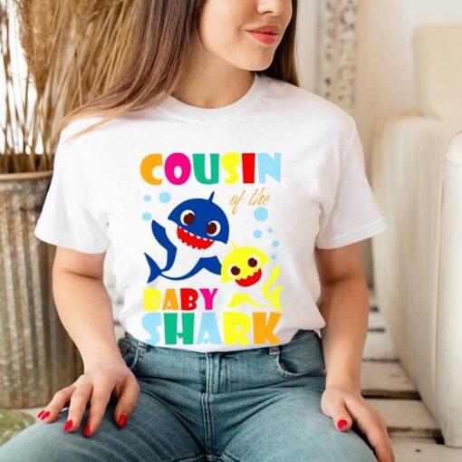 Cousin Of The Baby Shark shirt 7
