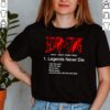 DMX legends never die like the wind God will take shirt 2 1