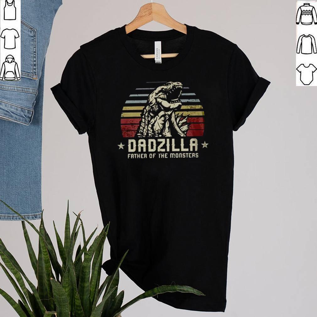 Dadzilla father of the monsters Godzilla vintage shirt 2