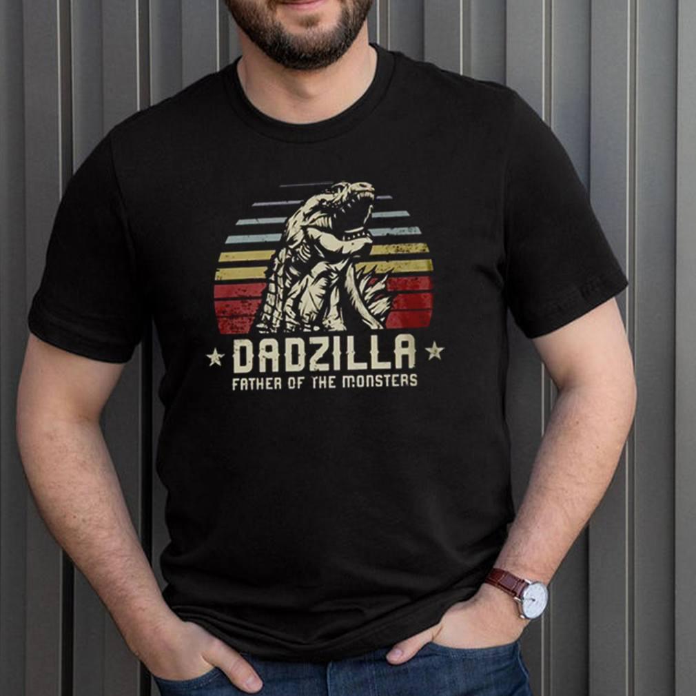 Dadzilla father of the monsters Godzilla vintage shirt 3