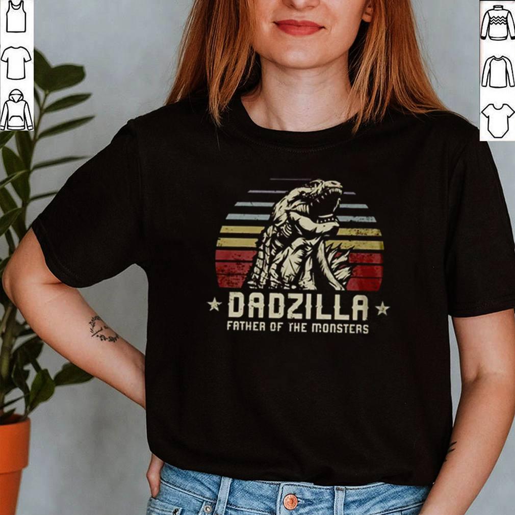 Dadzilla father of the monsters Godzilla vintage shirt