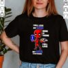 Deadpool I will love my Ravens here or there I will love my Ravens everywhere shirt