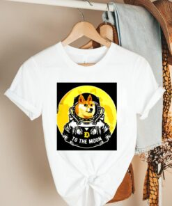 Dogecoin to the moon shirt 3 2