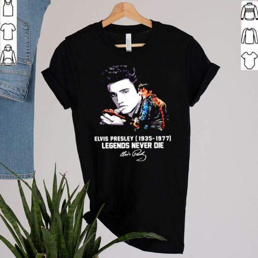 Elvis Presley 1935 1977 Legends Never Die Signatures Shirt 1 1