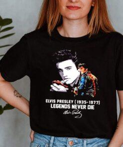 Elvis Presley 1935 1977 Legends Never Die Signatures Shirt 3 1