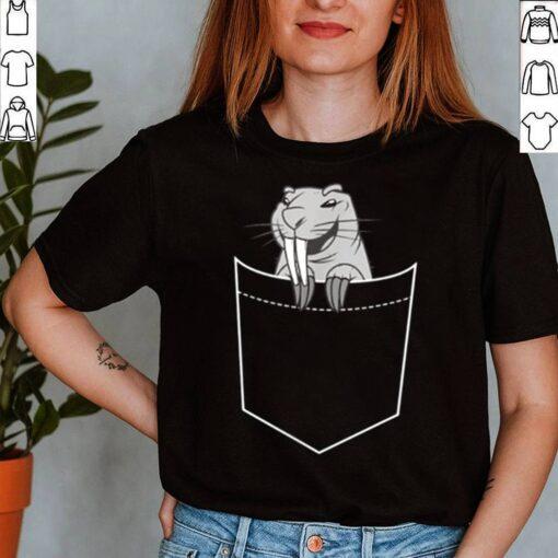 Funny Naked Mole Rat Pocket Rodents shirt 5