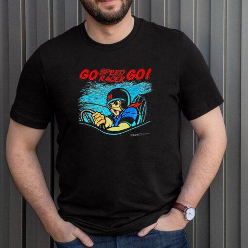 Go speed racer go shirt 3