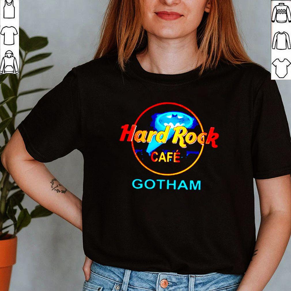 Hard rock cafe Gotham Bruce Wayne shirt