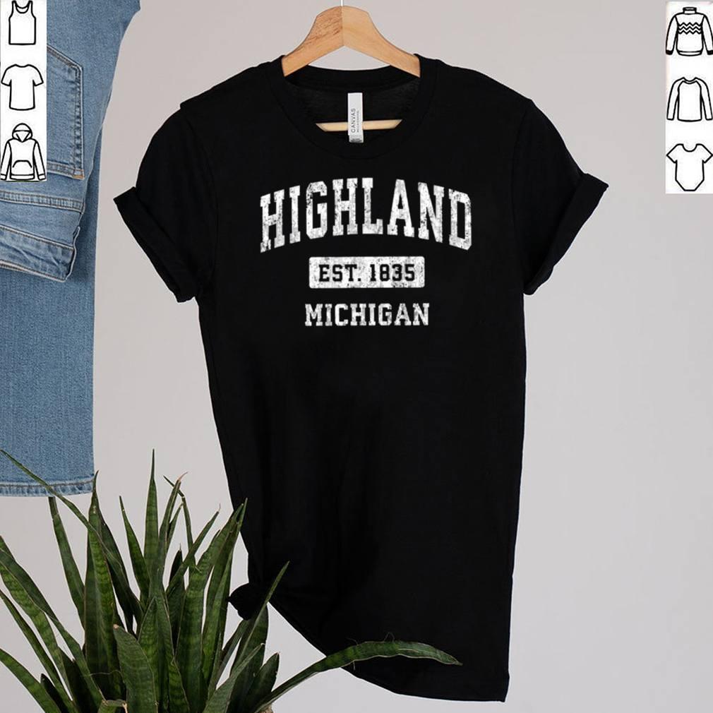Highland Michigan EST 1835 shirt 2