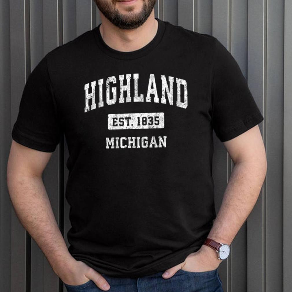 Highland Michigan EST 1835 shirt 3