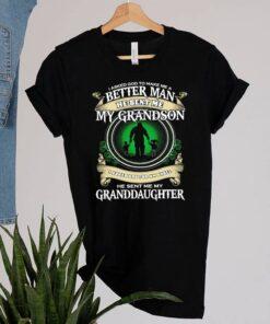 I asked god to make Me a better man he sent Me my grandson I asked god for an angel shirt 10