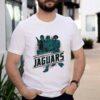 Jacksonville Jaguars NFL Star Wars Rebels Skywalker Leia and Han Solo shirt