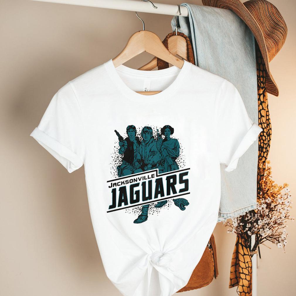 Jacksonville Jaguars NFL Star Wars Rebels Skywalker Leia and Han Solo shirt 2