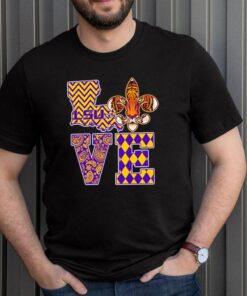 LSU Tigers Love shirt