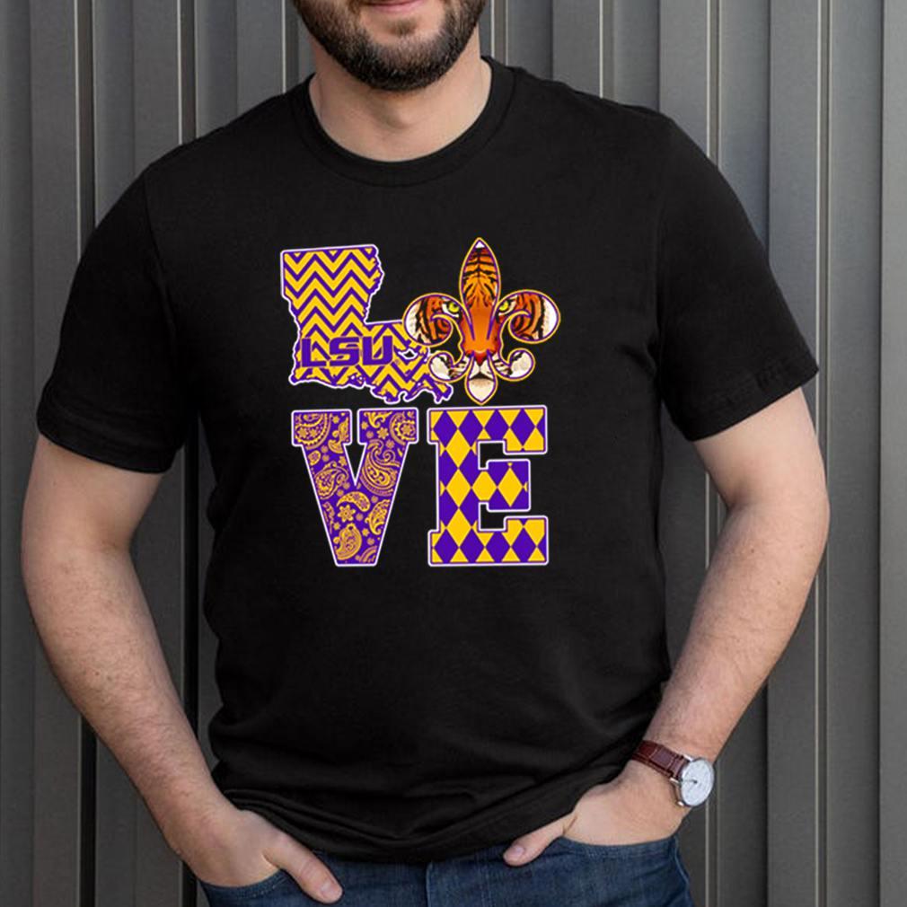 LSU Tigers Love shirt 3