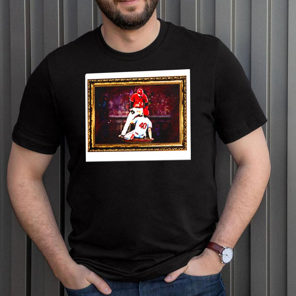 Nick castellanos Reds 2 Woodford 40 baseball picture shirt 3