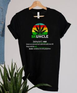 Skuncle definition always smells like weed vintage shirt