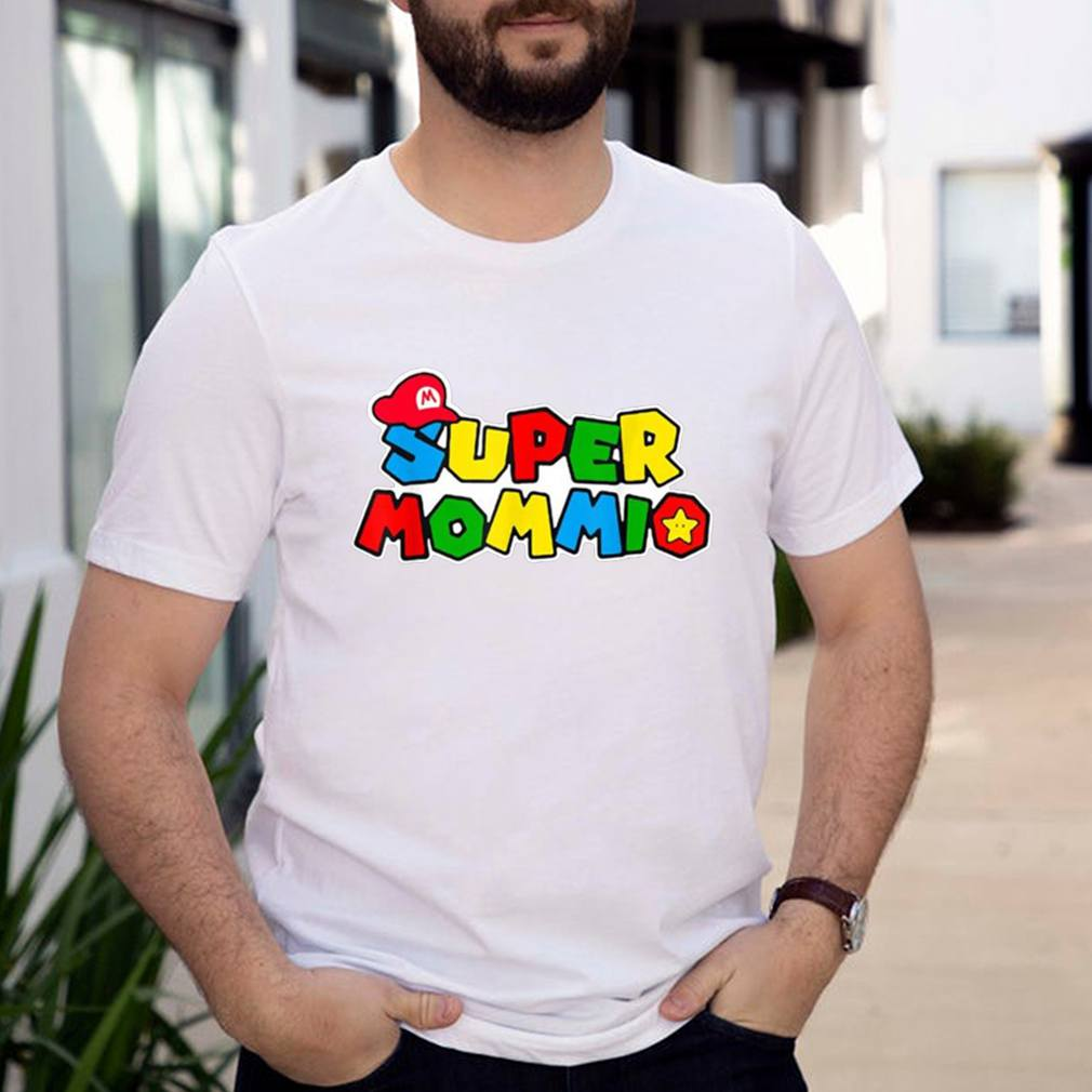 Super Mommio Funny Mommy Mother Nerdy Video Gaming Lover Shirt